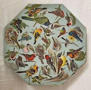 Springbok Puzzle *RARE* 1968 Western Birds Octagon (no missing/damaged pieces)