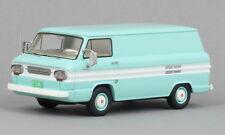 NEO 46527 - Chevrolet Corvair Box Van turquoise / blanc - 1963   1/43