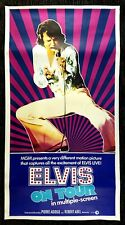 ELVIS PRESLEY ON TOUR ✯ CineMasterpieces 1972 VINTAGE ROCK ORIGINAL MOVIE POSTER