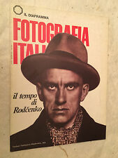 IL DIAFRAMMA FOTOGRAFIA ITALIANA N.215 6/1976 MAJAKOVSKIJ RODCENKO BORGHESAN