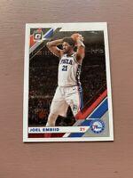 """Joel Embiid """"Base"""" 2019-20 Optic Basketball NBA Card."""