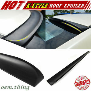 Painted Fit FOR INFINITI G35 G37 G25 Q40 4D DTO Roof Window Spoiler 07-15 PUF