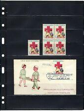 ''RED CROSS.-  ''CRUZ ROJA JUVENIL''  BKLT OF 4 >> F.D.C.  COLOMBIA 1966
