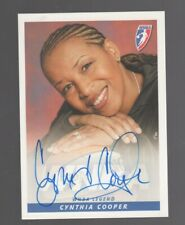 Cynthia Cooper AUTOGRAPH HOF 2005 WNBA Rittenhouse USC Houston AUTO Basketball