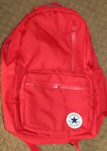 Converse All Star Chuck Taylor Red Backpack Unisex Converse Bags Sports bags