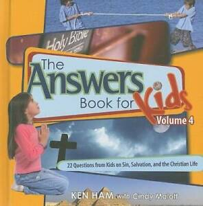 Answers Book for Kids Volume 4 - Hardcover By Ken Ham - GOOD
