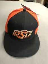 premium selection 4ce78 5ddd8 reduced oklahoma state cowboys nike dri fit stretch fit hat m l nwt 6b035  a2b30