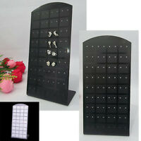 36 Pairs Earring Display Stand Organiser Holder Shop Stud Jewellery Box Travel