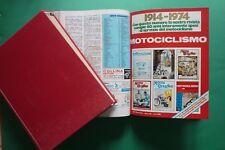 MOTOCICLISMO 1974 annata completa 2 volumi rilegati n.1-2-3-4-5-6-7-8-9-10-11-12