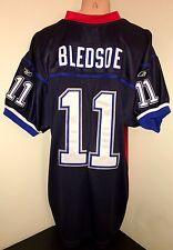 Drew Bledsoe #11 New England Patriots Throwback Jersey NFL Football 54 XXL 2XL