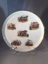 Vintage Royal Tudor Ware Barker Bros Britannia Designs Steam Engines