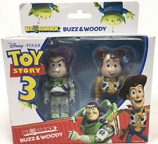 Buzz & Woody Be@rBrick Action Figure Medicom BearBrick New Factory Sealed Disney