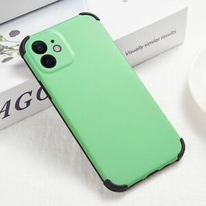 Luxury Candy Color Camera Protection Bumper Phone Case For iPhone 12 11 X XS SE