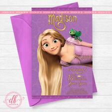 Tangled Invitation,Rapunzel Invitation,Tangled Birthday, Rapunzel Party
