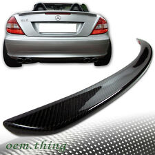 """IN STOCK LA"" Carbon Mercedes Benz SLK R171 Convertible A Trunk Spoiler SLK280"