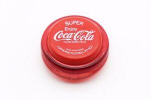 Vintage 1980s Red Genuine Russell Super Coca Cola YoYo/Coke Yo Yo, Philippines