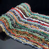 "5-8mm natural freeform chip gemstone spacer beads strand 35"" for jewelry DIY"