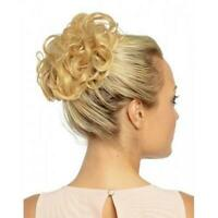 Messy Rose Bun Easy-To-Wear Stylish Hair Scrunchies Women Fashion Gifts E6B1