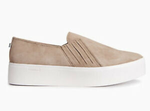 calvin klein jaquline Women  suede Sneaker slip-on Shoe size 7
