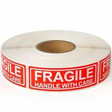 New Listingfragile 1x3 Handle With Care Shipping Stickers 1000 Labels Per Roll