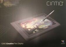 Wacom Cintiq 13HD Creative Pen Display DTK1300 - Open Box Orig. Packaging UNUSED