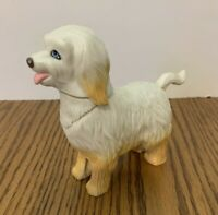 Vintage Mattel Barbie Sheep Dog Plastic Moveable Head Tail Collectable