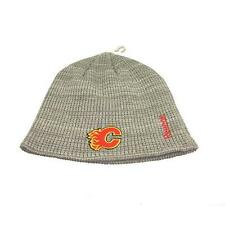 New NHL Calgary Flames Mens Reebok Winter Hat One size fits all Beanie Toque