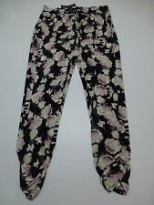 INC Pants Womens Size Sm Tribal Sunrise 2 Red Float Petal Regular Fit Casual New