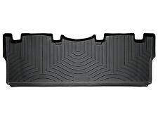 WeatherTech FloorLiner - Toyota Sienna - 2004-2010 - 2nd Row - Black