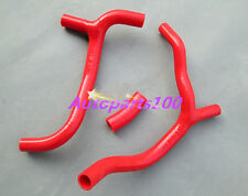 FOR HONDA CRF450 CRF 450 R SILICONE RADIATOR HOSE Y KIT 09 10 11 red