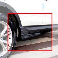 Side Wing Garnish Molding Painted Black 2p For 13 14 Hyundai SantaFe SPORT : DM