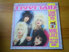 TIGER TAILZ Livin without you UK MAXI MUSIC FOR NATIONS 1988 HARD ROCK