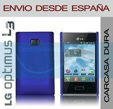 CARCASA FUNDA DURA AZUL LG OPTIMUS L3 E400 EN ESPAÑA