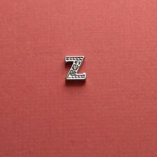 Origami Owl Authentic Floating Charm Letter Z Living Lockets Silver
