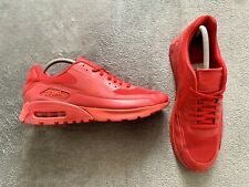 Genuine Authentic Rare Nike Air Max 90 Ultra Essential Gym Red Size UK 8 EU 42.5