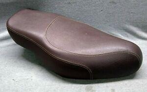 Aprilia Scarabeo 500, 2007-08, OEM dual seat, brown, AP8229437