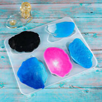 Silicone Coaster Molds Resin Irregular Cloud Shape Molds For Jewelry Making T YK
