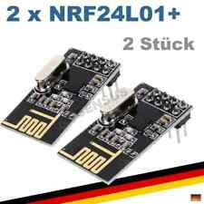 2x NRF24L01+ 2.4GHz Funkmodul Raspberry Pi Arduino Modul nrf2401 Antenne