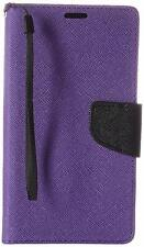 HR Wireless Cell Phone Case for LG G Stylo LS770 G4 Purple