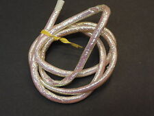 """1 Yard Large - Over 1/4"""" PEARL IRIDESCENT Mylar Minnow Tubing Piping Fly Tying"""