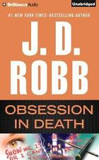 OBSESSION IN DEATH unabridged book on CD by J.D. ROBB (aka Nora Roberts)