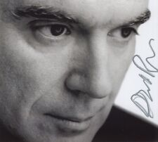 """David Byrne 1952- genuine autograph 5""""x6"""" photo signed In Person Talking Heads"""