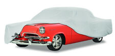 1940 Willys Coupe with Rear Bumper Custom Fit Grey Cotton Plushweave Car Cover