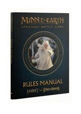 Middle-Earth Strategy Battle Game Rules Manual LOTR Lord of the Rings GW new