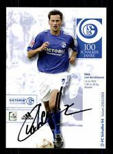 Nico van Kerckhoven Autogrammkarte FC Schalke 04 2003-04 Original Sign+A 132725
