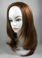 """20"""" Long Shoulder Length Straight Hair 3/4 cap Fall Hairpiece Extension Dayo"""
