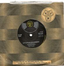 """ELTON JOHN - LUCY IN THE SKY WITH DIAMONDS - 70's - 7"""" VINYL"""
