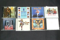 Jethro Tull CD Box lot Aqualung/Benefit/Best of/Broadsword the Beast/Album Set