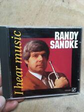 Randy Sandke-I Hear Music CD 1993 Concord Jazz Peplowski Kennedy Goldsby Clarke