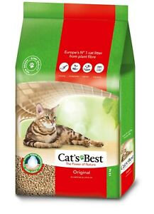 Cats Best Original Clumping Cat Litter Biodegradable Compostable 13kg
